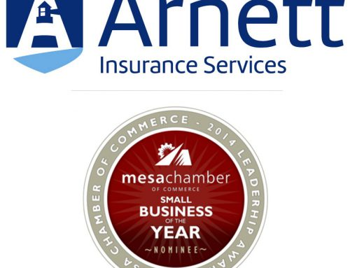Arnett Insurance Services awarded Small Business of the Year